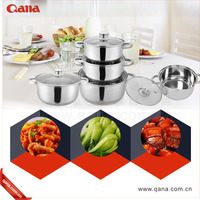 Best quality Induction Cooking Pots Non-Stick Cooking Set Stainless Steel Cookware