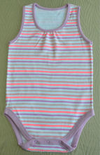 high quality cotton Rompers babywear with striped