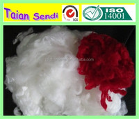 low price polyester staple fiber(HCS) filling toy,sofa