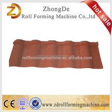 Popular classic colorful color coated steel roof tile