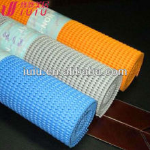 PVC Foam grip mat, suitable for shelf liner, drawer liner, many colours and size available
