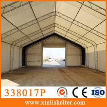 338017P Tent master PVC tarpaulin strong double trussed, peak storage shelter tent
