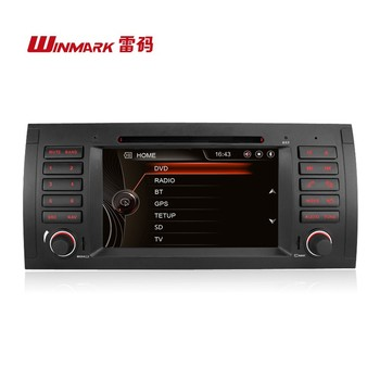 7'' 1Din Car Navigation GPS Car Radio for Bmw E39 With Original UI with all-in-one functions DJ7061