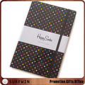A5 Promotional high quality hardcover writing notebook