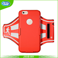 wholesale price armband cell phone holder case with key pocket for iphone 6