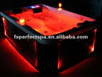 USD999 acrylic whirlpool outdoor spa hot tub