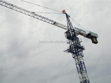 used QTZ tower crane and SC construction building hoist