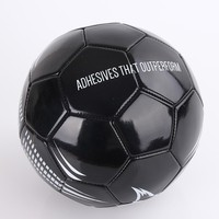 Glued by thermal heating portugal black inflatable soccer ball
