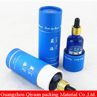 2018 OEM Cheap Sample Cardboard Gift Cylinder Cosmetic carton tube free