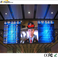 High quality P3 Rental china sexy video curtain led display wall hot vide