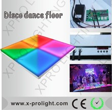 Night club led dance floor 432pcs disco dance stage Acrylic portable led dance floors