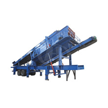 New Technology Granite Mobile Stone Jaw Impact Crushing Plant Price