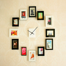 2016 Hot sale Multi Solid Wood Clock Photo Picture Frames
