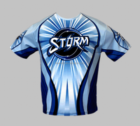 Custom Made Full Sublimation Printing bowling shirts