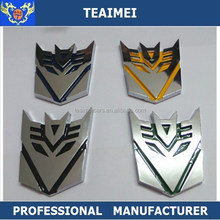 Transformer Autobot Car Logo Sticker Chrome Car Emblem Badges