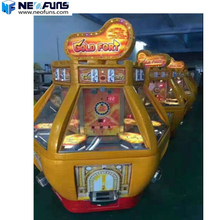 excellent quality pusher arcade game Gold Fort coin pusher toy vending machine