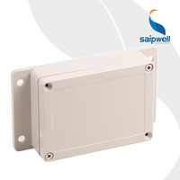 115*85*35mm Wall Mounting Electric Plastic Box with Ears Solar System Enclosure