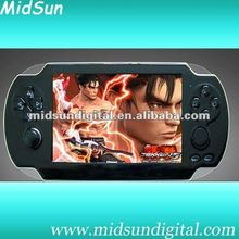 5 inch digital handheld mp6 player games with TV output