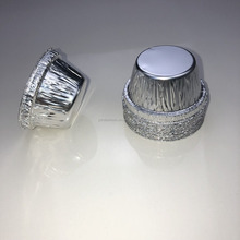 mini size 50ml round retail packing disposable aluminum foil cakecup tart container/cups