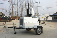 low price high efficiency diesel engine wood chipper
