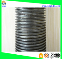 Copper/Carbon Steel/Stainless Steel Extruded Low Finned Tube