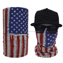 Cool Fancy Wholesale Seamless Country Flag Face Mask Bandana
