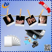 HOT! Waterproof cheap rc resin coated glossy /silky/satin/wove photo paper for dry minilabs roll & sheet