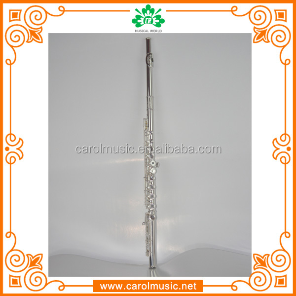 Professional Hand Engraving metal Flute