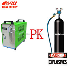 No gas cylinders safety oxy-hydrogen gas welding replace oxy acetylene welding equipment