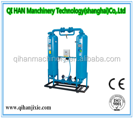 Industrial heatless desiccant adsorption regeneration air dryer