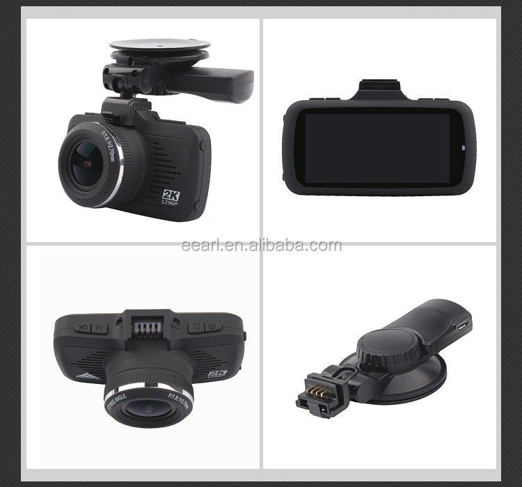 2.7 inch Ambarella A7LA50D 1296P Car Dash Cam Pro Car Speed recorder