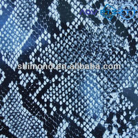 2015 New Product Printed Snakeskin Pattern