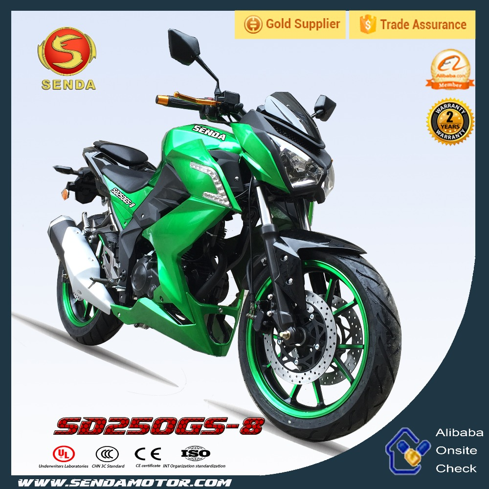 Chongqing Manufacturer Motorcycle 250CC Super Power NINJA 250L Top Quality Racing Bike SD250GS-8