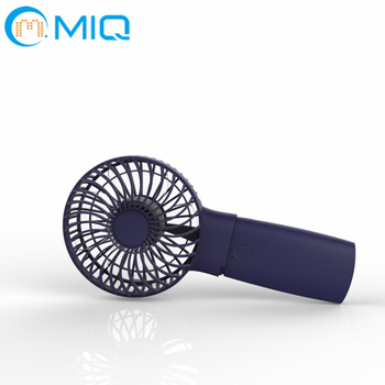 2 in 1 Air cooling hand mini electric fan with powerbank