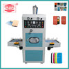 High frequency pu leather cover making machine for flip cover case