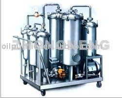 Cook Oil Bio diesel Oil Purification Recycling Plants With Vacuum Pump and Infrared System