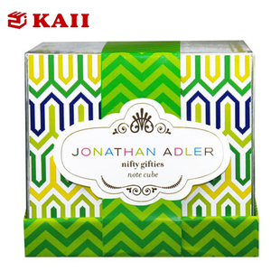 KAII Acrylic Notepad Paper Holder with 300 Sheets Notepad Paper/ Memo Paper Pads