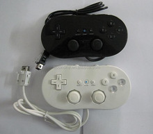 white black 1st Generation Wired Classic controller gamepad joystick for Nintendo Wii remote controller