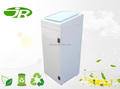 Commercial clothes recycling bin for outside