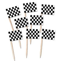 Cupcake Party Decoration Flag Picks Toothpick with Flags
