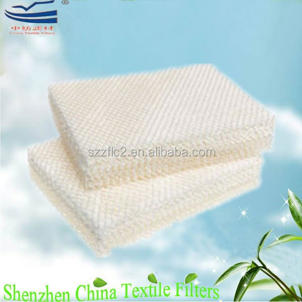Home appliances humidifier parts water pad filter manufacturer