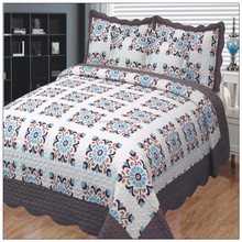 Commercial fancy bedspread india bedspreads