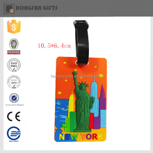 2015 new style pretty rybber tourist souvenirs of new york