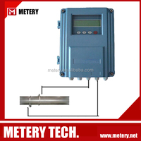 wall mounted ultrasonic flow meter low water flow sensor