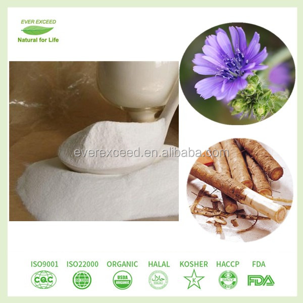 Pure natural organic inulin powder chicory root extract
