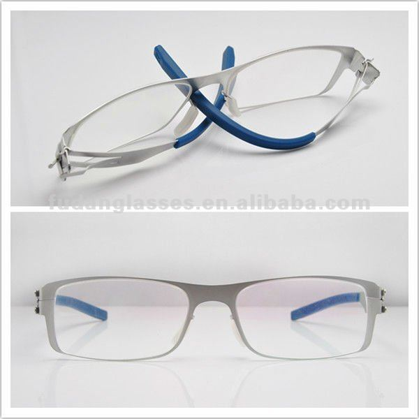 titanium frame see eyewear frame latest branded spectacle frames novelty eyeglasses ic!shimonk Eyeglasses