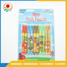 10 pack mini push pencils for kids