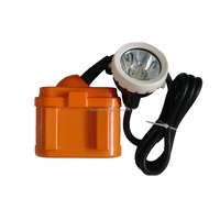 Ni-MH battery 6 AH 10000lux explosion proof LED miner light mining cap lamp