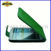 Top Flip PU Leather Cover Case for Samsung Galaxy S3 I9300 Laudtec