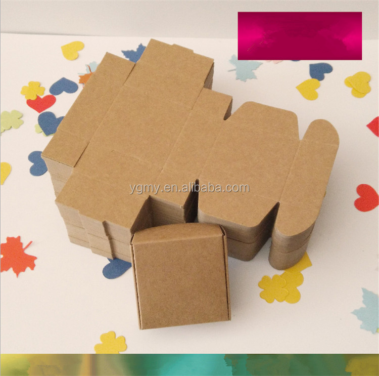 3*3*2cm Aircraft Cardboard Pack Boxes Smart Little Sized Craftwork Gift, Fastener, Ear Rings Kraft Paper Boxes
